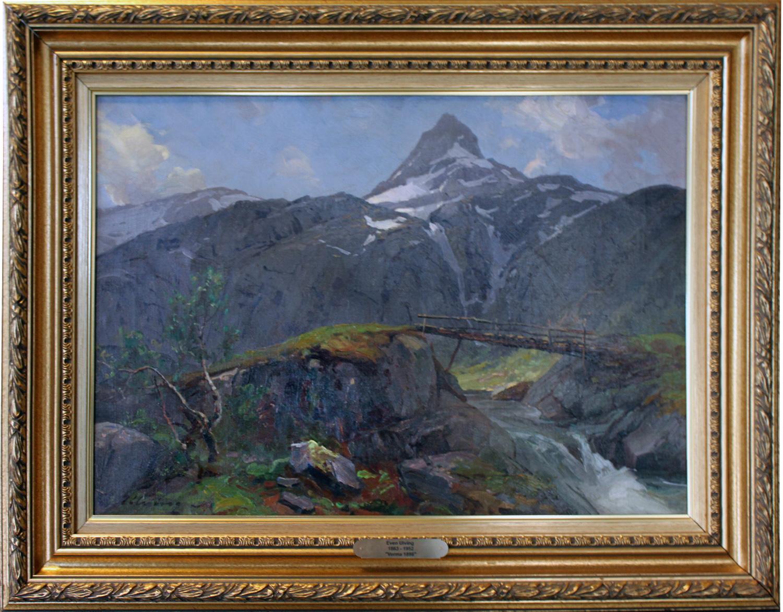 Even Ulving 62x82cm Fra Verma i Romsdalen