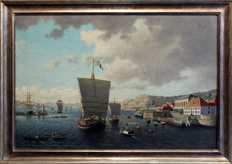 Frederik Sørvik Indseillingen til Bergen