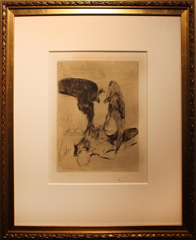 Edvard Much Harpyie. 1894. Woll 4
