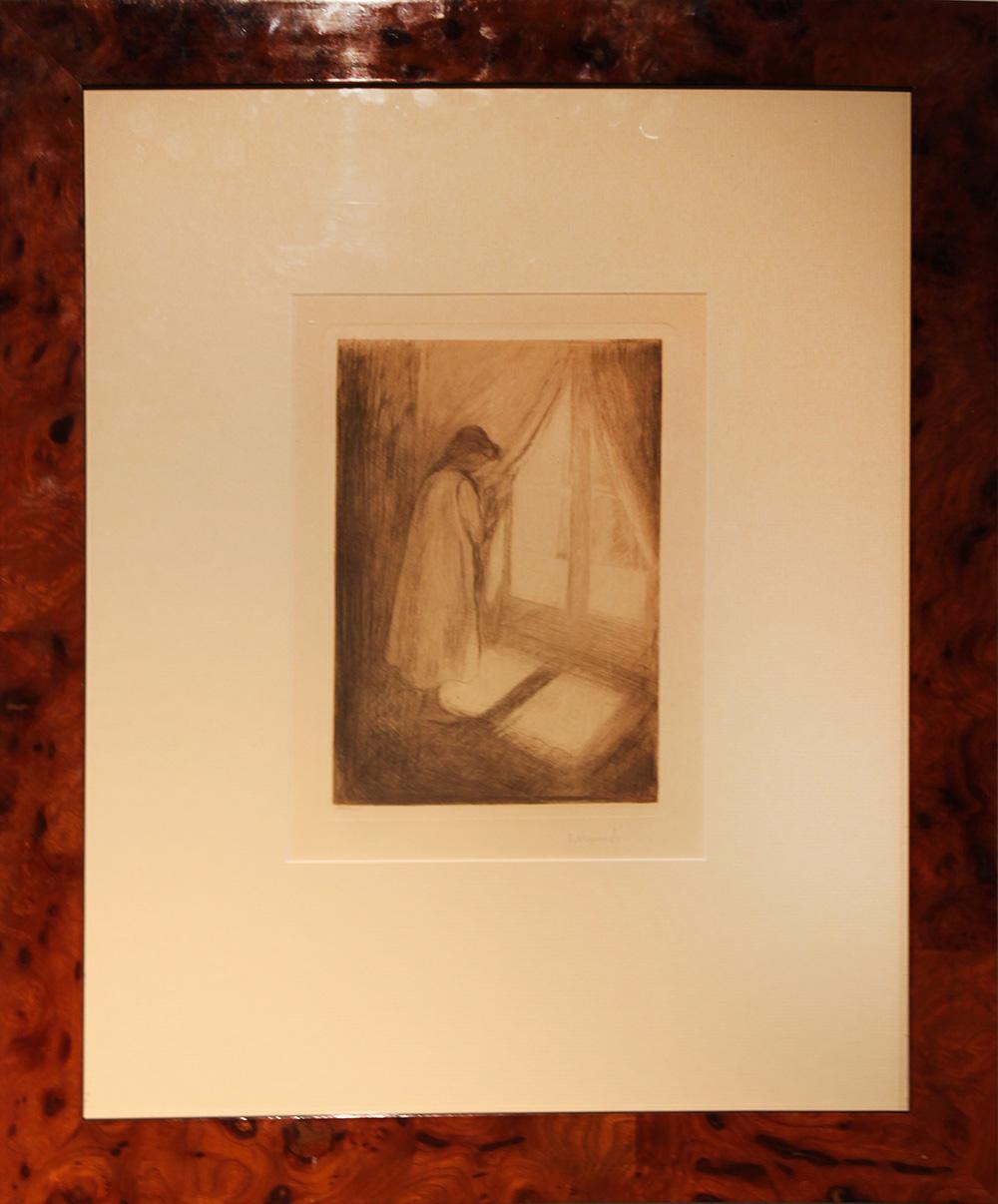 Edvard Much Mot lyset. 1914. Woll 485